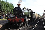 Bishops Lydeard - 7822 ready to leave for Minehead.jpg
