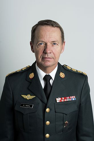 Chief of Defence (Denmark) - Image: Bjørn Bisserup General 2017