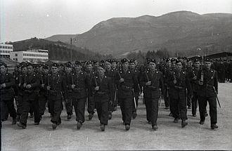 Ustashe - A unit of Ustaše in Sarajevo