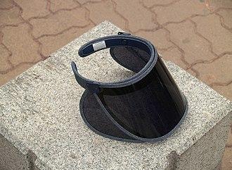 Visor - Sports visor designed in Seoul, South Korea