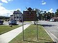Blue Star Memorial Highway marker at Georgia Welcome Center (Valdosta, Lowndes County).JPG
