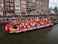 Boat 61 Circus Herman Renz, Canal Parade Amsterdam 2017 foto 3.JPG