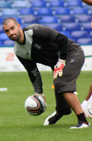Boaz Myhill - Myhill training with Birmingham City in 2011