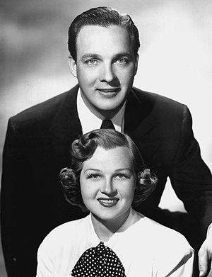 Club Fifteen - Host Bob Crosby with co-star Jo Stafford (1951)