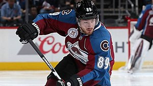 Mikkel Bødker - Bodker pictured during his time with the Colorado Avalanche