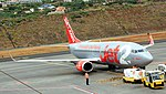 Boeing 737 G-GDFH Madeira Funchal airport 2016 1.jpg