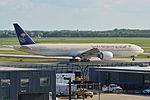 Boeing 777-368ER, HZ-AK17, Saudi Arabian Airlines (18655581738).jpg