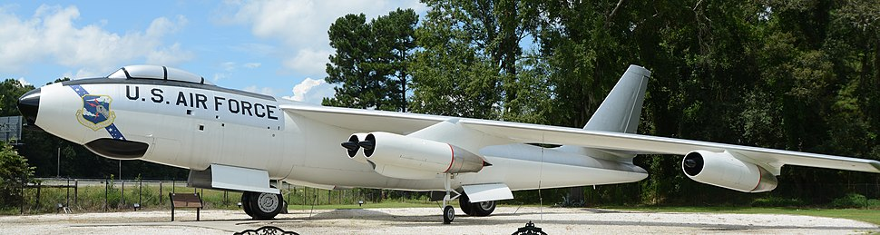 Boeing B-47 at Mighty 8th Air Force Museum, Pooler, GA, US