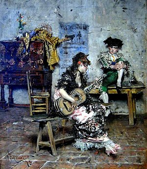 Giovanni Boldini - Image: Boldini, The Guitar Player