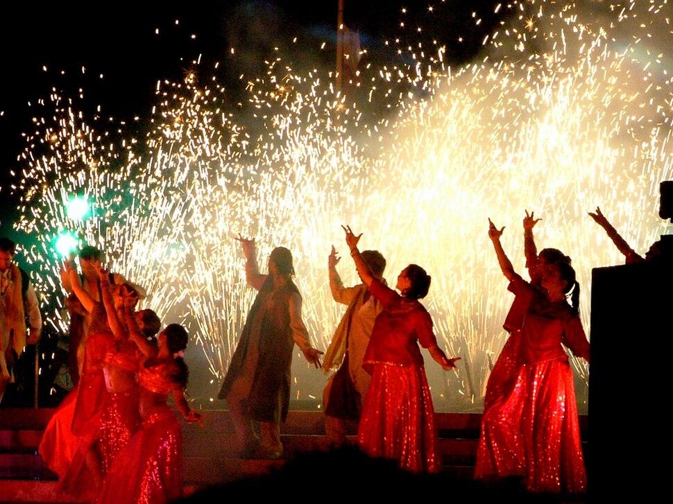 Bollywood dance show in Bristol