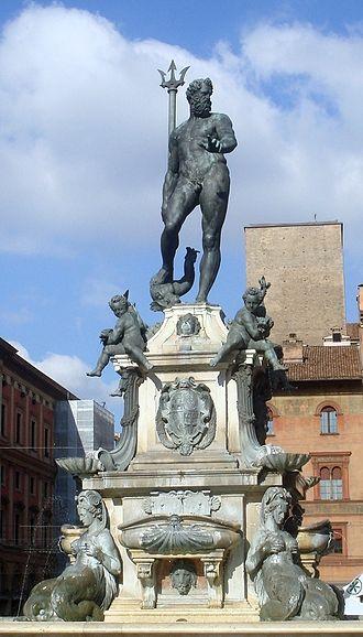 Fountain of Neptune, Bologna - The Fountain of Neptune