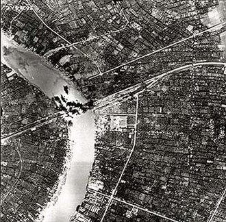 Bombing of Bangkok in World War II - Allies bombed Rama VI Bridge