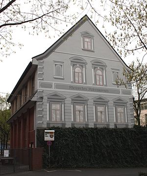 Rheinisches Malermuseum - Image: Bonn Rheinisches Malermuseum 2009 04 12