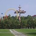 Boomerang, Enterprise und Ikarus im Freizeit-Land Geiselwind - panoramio.jpg