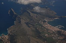 Boquer Valley and Port de Pollença from the air.JPG