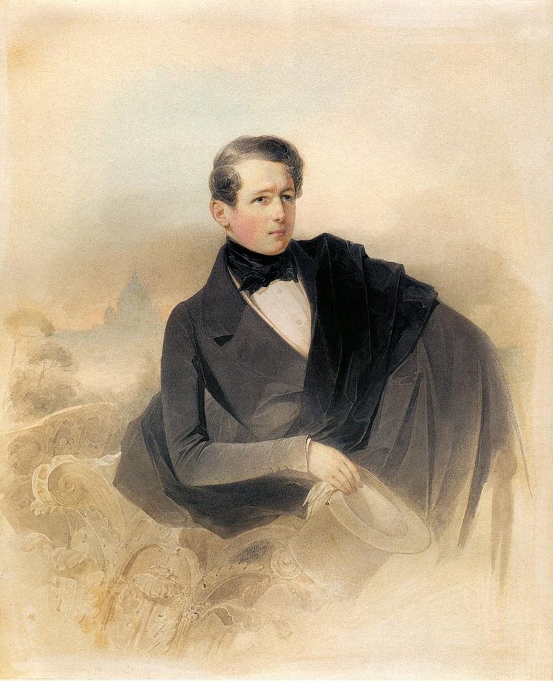 Художник В. И. Гау, 1839 год