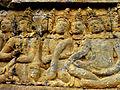 Borobudur - Lalitavistara - 010 E, The Gods discuss who should accompany the Bodhisattva (detail 2) (11247992903).jpg
