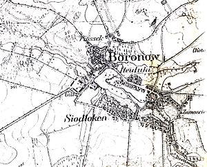 Boronów - Boronów in the 19th century