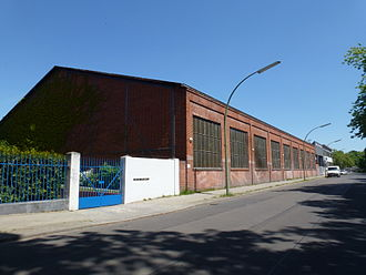 Alkett - Alkett workshops on Breitenbachstraße