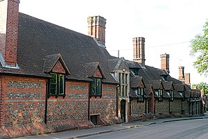 Bradfield College - Original buildings of Bradfield College