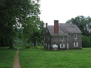 Chadds Ford Township, Delaware County, Pennsylvania - George Washington's headquarters at Brandywine Battlefield