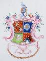 Brasão de armas de José Pires de Carvalho e Albuquerque (Porcelana da China, Qianlong).png