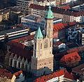 Braunschweig Luftaufnahme Andreaskirche Alte Waage (2011).JPG