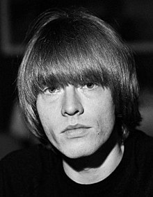 Brian Jones during the Rolling Stones' visit to Finland in June 1965