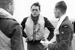 Brian Lane (RAF officer) British World War II flying ace