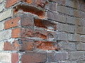 Bricks eroded by weather on Ashby Place, 2014 12 03 (3) (15759051479).jpg
