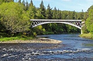 Carron Bridge (River Spey) Bridge in Scotland