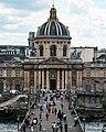 Bridge outside the Louvre, Paris 5 June 2017.jpg