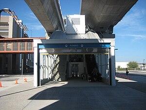 Bridgeport station (SkyTrain) - Image: Bridgeport Station