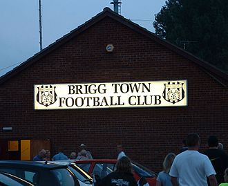 Brigg Town F.C. - An exterior shot of The Hawthorns