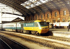 1976 in the United Kingdom - InterCity 125
