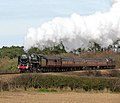 Britannia Pacific 70013 'Oliver Cromwell' between Sheringham and Weybourne - geograph.org.uk - 1749174.jpg