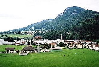 Broc - Broc village