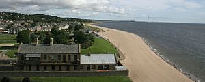 Broughty Ferry - Image: Broughty Ferry Beach