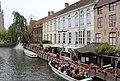 "Bruges, the Dijver, view to the hotel ""De Orangerie"".JPG"