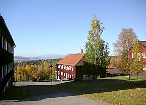 Hakon Ahlberg - Former Brunnsvik Folk High School, Ludvika Municipality