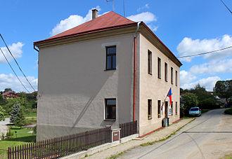 Brzkov - Image: Brzkov, elementary school