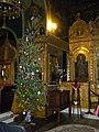 Bucuresti, Romania. Biserica Rusa. Brad de Craciun, Decembrie 2017.jpg