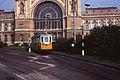 Budapest tram 67 by station Keleti.jpg
