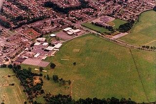 The Bulmershe School Comprehensive community school in Woodley, Berkshire, England