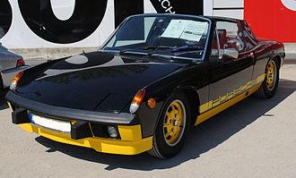 """Porsche 914 - """"Bumblebee"""" (black) 914 LE"""