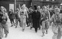 Un'altra immagine della liberazione del Duce sul Gran Sasso