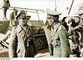 Bundesarchiv Bild 101I-784-0232-37A, Nordafrika, Erwin Rommel, Georg v. Bismarck Recolored.jpg