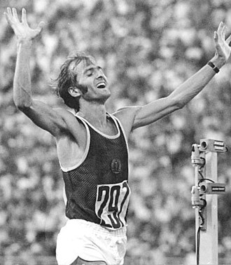 Waldemar Cierpinski - Image: Bundesarchiv Bild 183 W0801 0126, Moskau, XXII. Olympiade, Waldemar Cierpinski