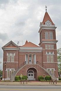 Burke County Courthouse; Waynesboro, Georgia; April 16, 2011.JPG