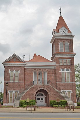 Burke County Courthouse; Waynesboro, Georgia; April 16, 2011.JPG